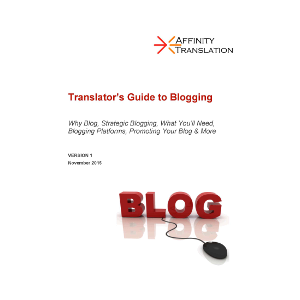Translator Guide Blogging Cover