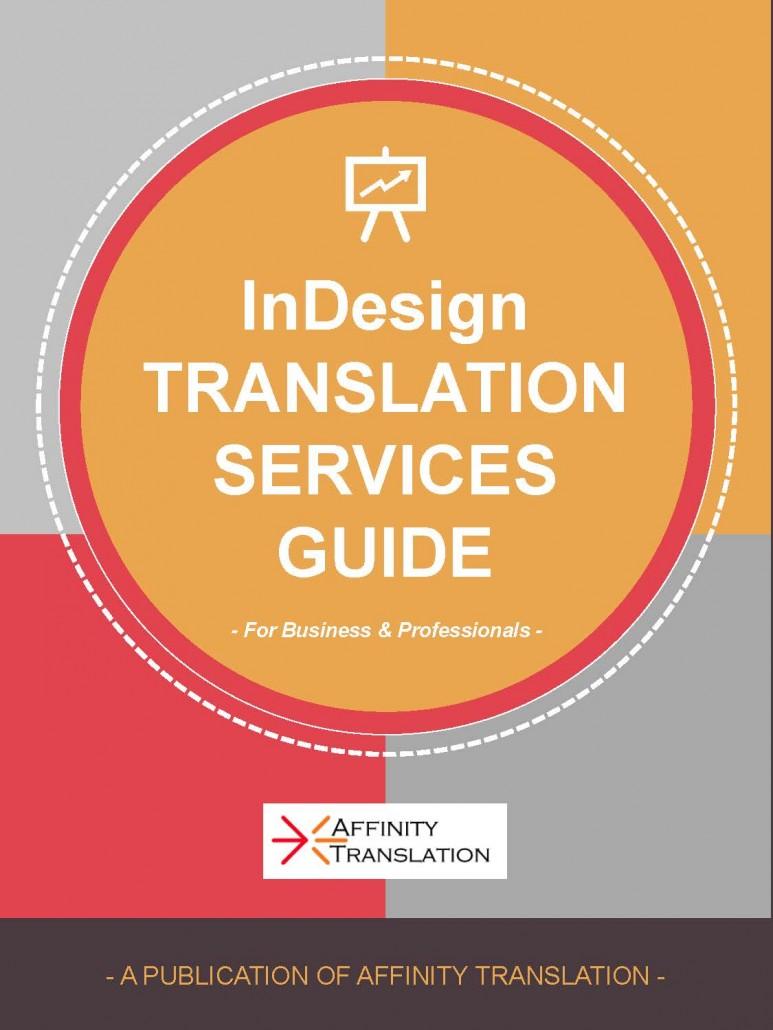 indesign translation services guide affinity translation rh affinitytranslation com Weider Pro 3550 Risk Manual Spanish