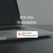 PDF File Translation