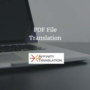 PDF File Translation