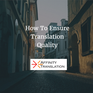 Ensure Translation Quality