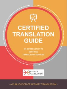 certified translation services guide