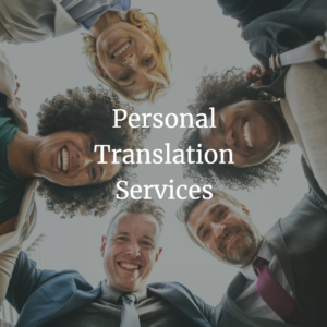 Personal Translation Services